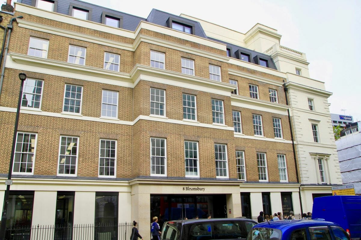 Bloomsbury Plaza, London, UK, Traditional Sash Easy Clean Windows 1
