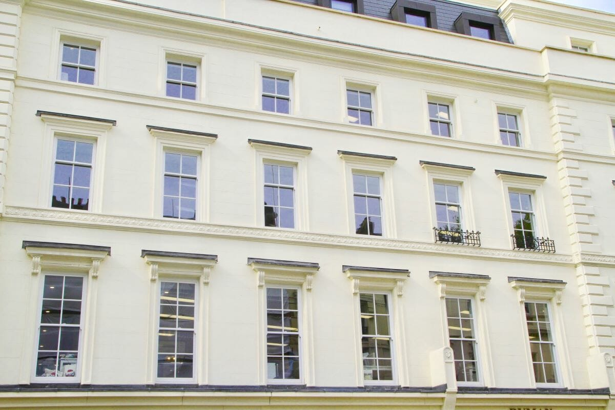 Bloomsbury Plaza, London, UK, Traditional Sash Easy Clean Windows