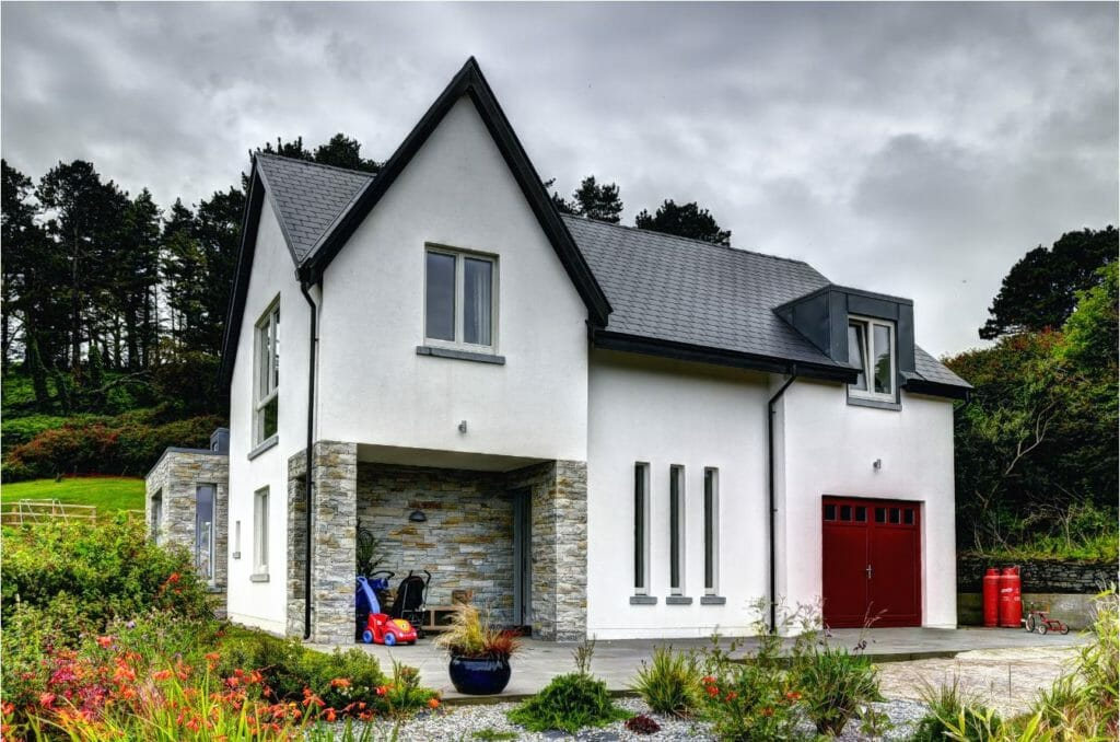 Cork Ireland, Private houses gallery Alu clad windows Zyle Fenster