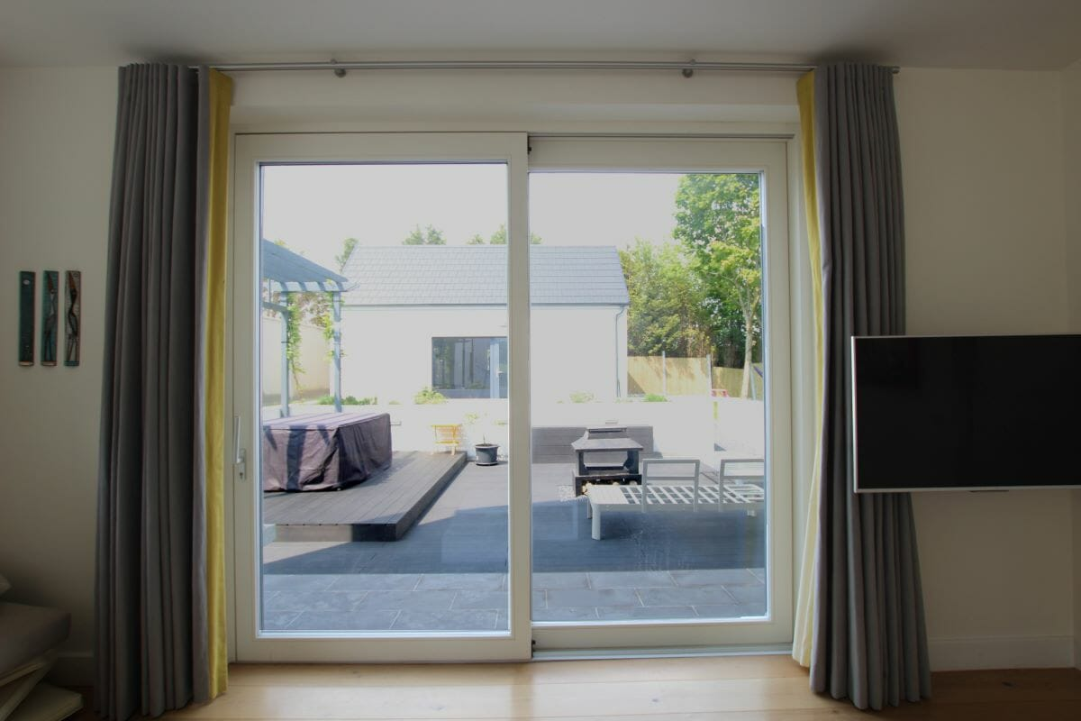 Dublin, Ireland, Alu-Clad Windows, Alu-Clad Sliding doors, Contemporary Front Doors 1