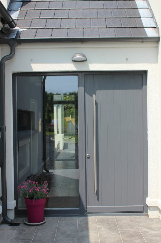 Dublin, Ireland, Alu-Clad Windows, Alu-Clad Sliding doors, Contemporary Front Doors