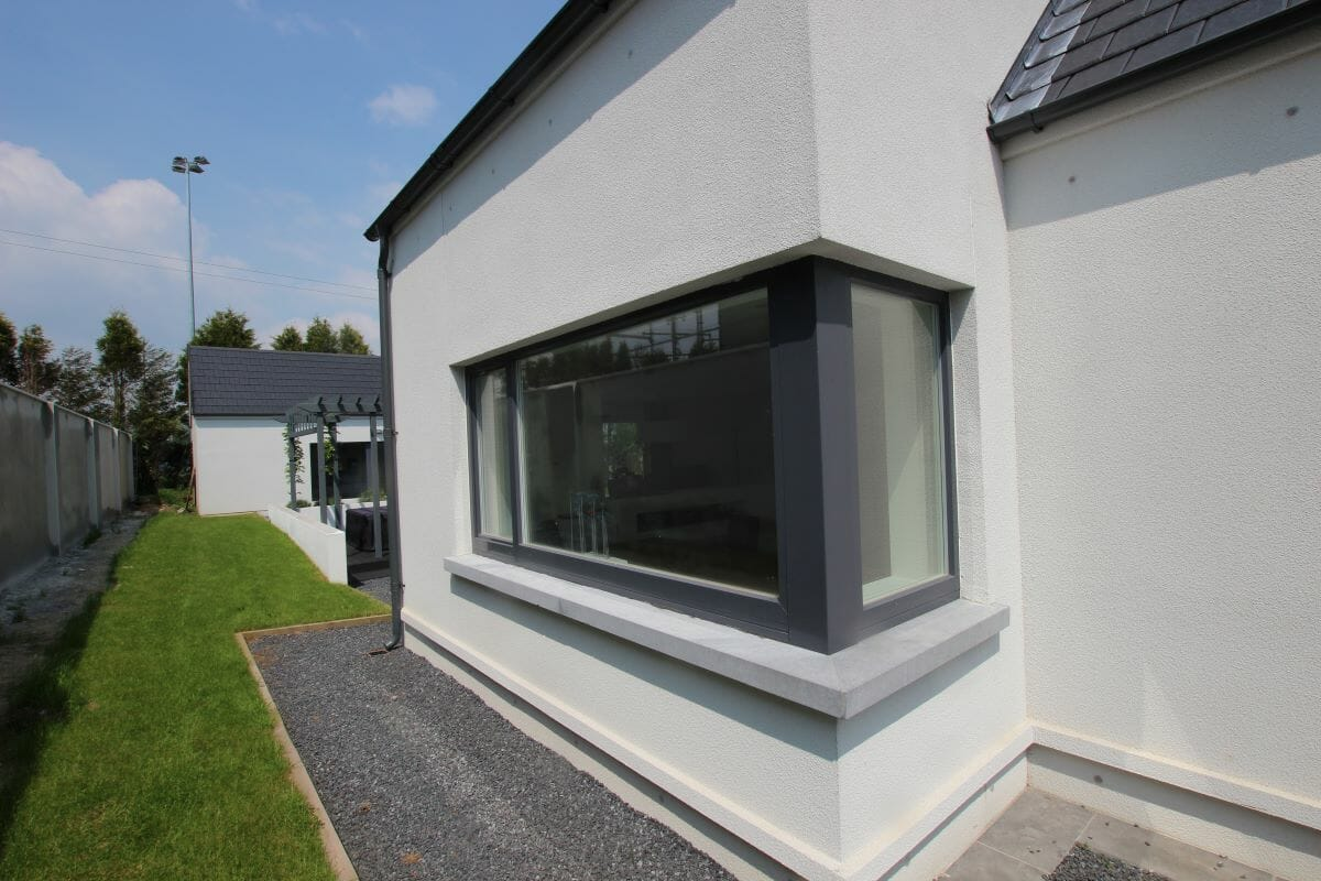 Dublin, Ireland, Alu-Clad Windows, Alu-Clad Sliding doors, Contemporary Front Doors 9