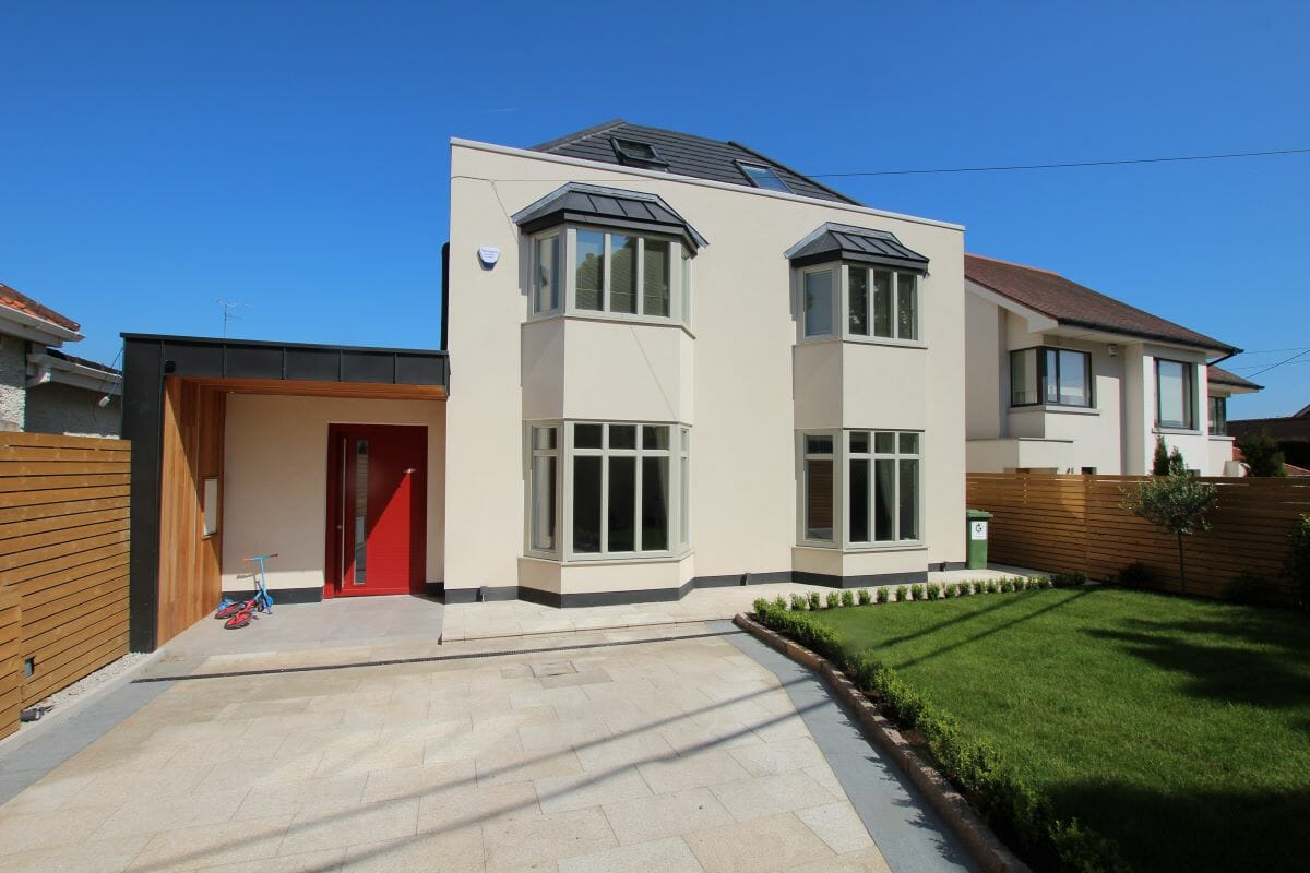 Dublin, Ireland, Schuco High Insulation Windows AWS 70 HI, Alu-Clad windows, Alu-Clad Sliding doors