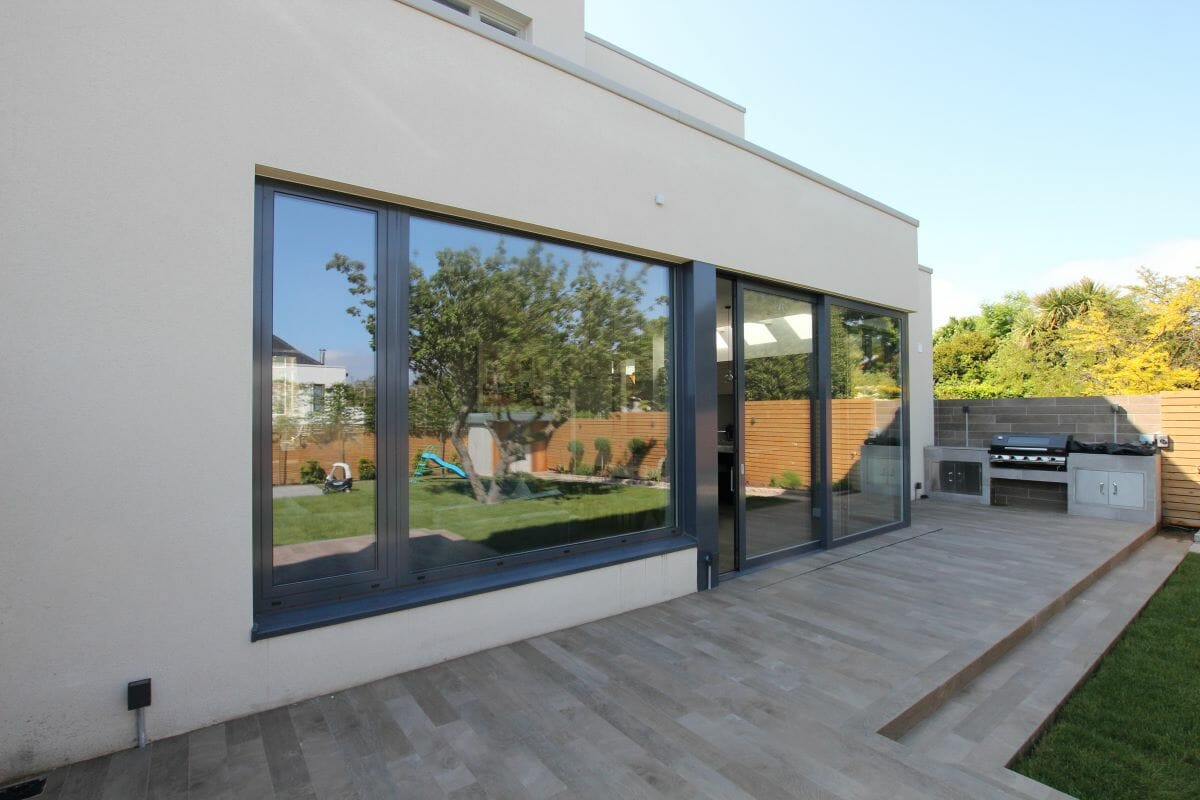 Dublin, Ireland, Schuco High Insulation Windows AWS 70 HI, Alu-Clad windows, Alu-Clad Sliding doors 4