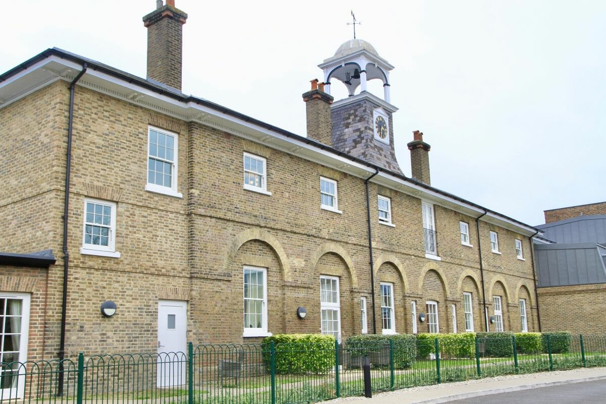 Home Of Compation, South London, UK, Traditional Sash Easy Clean Windows, Traditional Tilt & Turn windows 3
