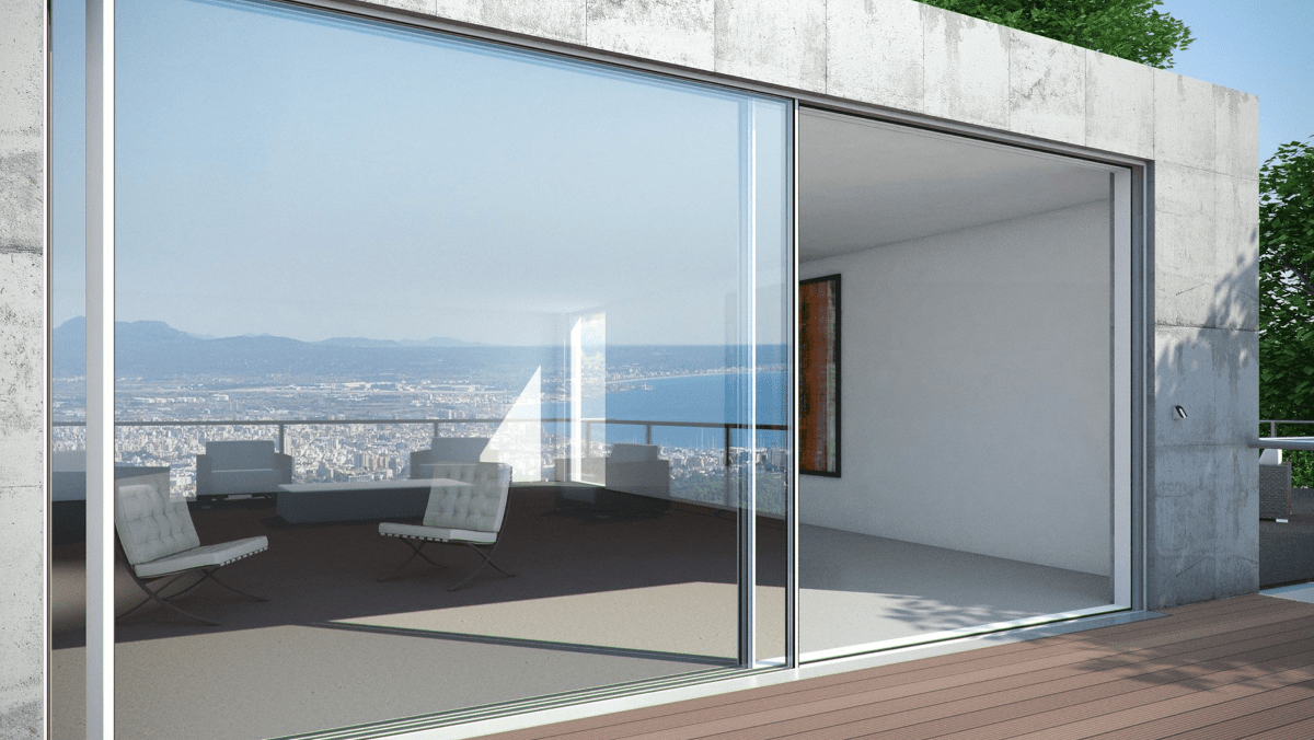 Schuco Aluminium Panorama Sliding Door System ASS77 Zyle fenster